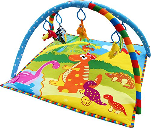 Baby Light Dinosaur Activity Playmat Play Mat Gym 0m