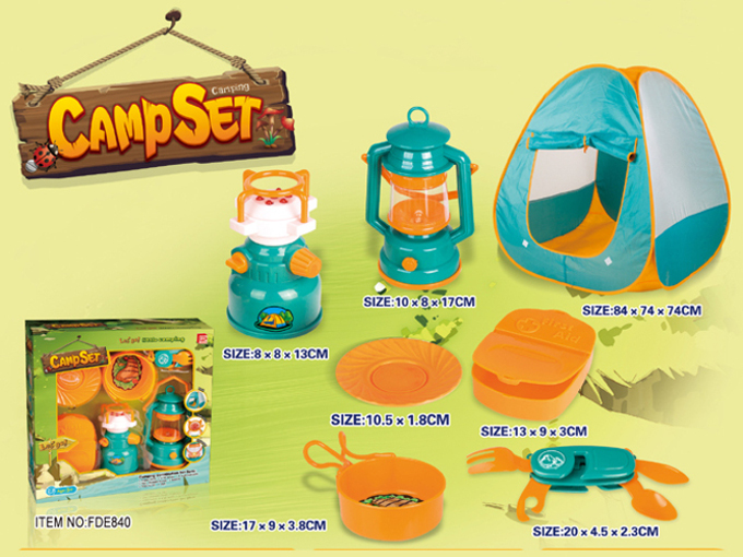 Kids Pretend Play Camping Cooking Set Inside Out Toys