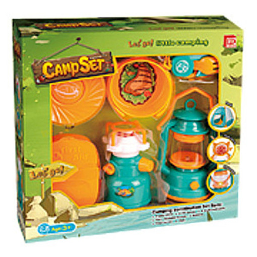 Camping Toys Product : Kids pretend play camping cooking set inside out toys